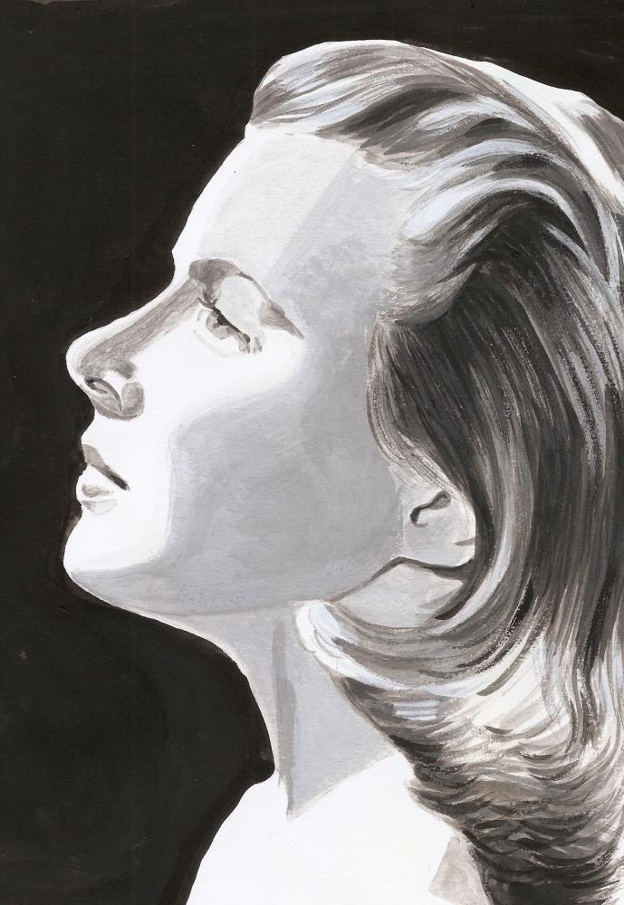 Ingrid Bergman by plissken999